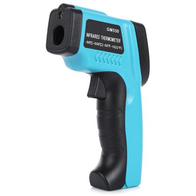 Laser Infrared Thermometer with LCD Display