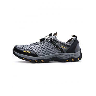 Men Mesh Hiking ShoesHiking Shoes<br>Men Mesh Hiking Shoes<br><br>Available Size: 39, 40, 41, 42, 43, 44<br>Closure Type: Lace-Up<br>Features: Anti-slip, Breathable<br>Package Contents: 1 x Pair of Shoes<br>Package size: 33.00 x 22.00 x 11.00 cm / 12.99 x 8.66 x 4.33 inches<br>Package weight: 1.0800 kg<br>Product weight: 0.9000 kg<br>Season: Spring, Summer, Autumn
