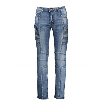Plus Size Slim Fit JeansMens Pants<br>Plus Size Slim Fit Jeans<br><br>Material: Cotton<br>Package Contents: 1 x Pair of Jeans<br>Package size: 20.00 x 20.00 x 4.00 cm / 7.87 x 7.87 x 1.57 inches<br>Package weight: 0.4200 kg<br>Product weight: 0.3500 kg<br>Size: 30,32,34,36,38