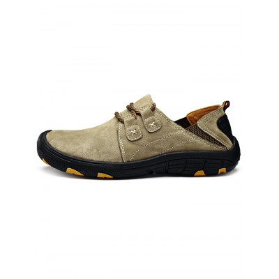 Outdoor Anti-slip Hiking ShoesAthletic Shoes<br>Outdoor Anti-slip Hiking Shoes<br><br>Available Size: 38, 39, 40, 41, 42, 43, 44<br>Closure Type: Lace-Up<br>Features: Anti-slip, Durable<br>Gender: Men<br>Package Contents: 1 x Pair of Shoes<br>Package size: 33.00 x 22.00 x 11.00 cm / 12.99 x 8.66 x 4.33 inches<br>Package weight: 0.9580 kg<br>Product weight: 0.6000 kg<br>Season: Summer, Spring, Autumn<br>Sole Material: Rubber