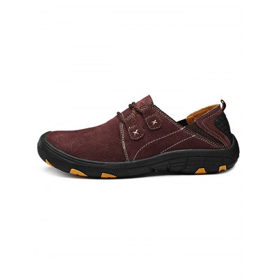 Outdoor Anti-slip Hiking ShoesHiking Shoes<br>Outdoor Anti-slip Hiking Shoes<br><br>Available Size: 38, 39, 40, 41, 42, 43, 44<br>Closure Type: Lace-Up<br>Features: Anti-slip, Durable<br>Gender: Men<br>Package Contents: 1 x Pair of Shoes<br>Package size: 33.00 x 22.00 x 11.00 cm / 12.99 x 8.66 x 4.33 inches<br>Package weight: 0.9580 kg<br>Product weight: 0.6000 kg<br>Season: Summer, Spring, Autumn<br>Sole Material: Rubber