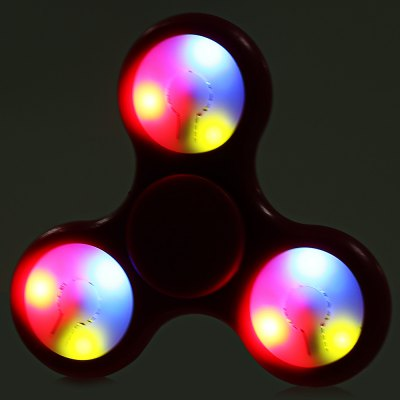 Multi-color Push Button LED Tri-wing ABS Fidget SpinnerFidget Spinners<br>Multi-color Push Button LED Tri-wing ABS Fidget Spinner<br><br>Color: Red<br>Features: LED Light<br>Frame material: ABS<br>Package Contents: 1 x Fidget Spinner<br>Package size (L x W x H): 9.00 x 9.00 x 1.90 cm / 3.54 x 3.54 x 0.75 inches<br>Package weight: 0.0550 kg<br>Product size (L x W x H): 7.20 x 7.20 x 1.40 cm / 2.83 x 2.83 x 0.55 inches<br>Product weight: 0.0290 kg<br>Swing Numbers: 3<br>Type: Triple Blade