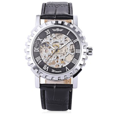Winner U8021M Men Auto Mechanical WatchMens Watches<br>Winner U8021M Men Auto Mechanical Watch<br><br>Band material: Leather<br>Band size: 25.5 x 2cm / 10.04 x 0.79 inches<br>Brand: Winner<br>Case material: Alloy<br>Clasp type: Pin buckle<br>Dial size: 4.5 x 4.5 x 1cm / 1.77 x 1.77 x 0.39 inches<br>Display type: Analog<br>Movement type: Automatic mechanical watch<br>Package Contents: 1 x Watch<br>Package size (L x W x H): 26.50 x 5.50 x 2.00 cm / 10.43 x 2.17 x 0.79 inches<br>Package weight: 0.0910 kg<br>Product size (L x W x H): 25.50 x 4.50 x 1.00 cm / 10.04 x 1.77 x 0.39 inches<br>Product weight: 0.0600 kg<br>Shape of the dial: Round<br>Special features: Luminous<br>Watch mirror: Mineral glass<br>Watch style: Fashion, Business<br>Watches categories: Male table<br>Water resistance : Life water resistant<br>Wearable length: 19.00 - 24.00cm / 7.48 - 9.45 inches