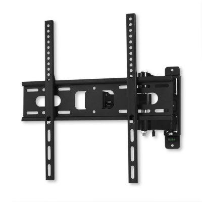 YC - TV240 35kg Wall Mount Bracket for 17 - 55 inch TVTV bracket<br>YC - TV240 35kg Wall Mount Bracket for 17 - 55 inch TV<br><br>Color: Black<br>Compatible TV Size: 17 - 55 inch<br>Material: Stainless Steel<br>Max Load Bearing: 35kg<br>Model: YC - TV240<br>Package Contents: 1 x TV Wall Mount Bracket, 1 x Screw Pack, 1 x English User Manual<br>Package size (L x W x H): 45.50 x 22.50 x 8.00 cm / 17.91 x 8.86 x 3.15 inches<br>Package weight: 2.6900 kg<br>Product size (L x W x H): 43.50 x 20.50 x 6.00 cm / 17.13 x 8.07 x 2.36 inches<br>Product weight: 1.8570 kg