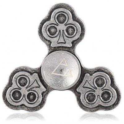 Retro Triple Fidget Spinner Three Trees Style EDC ADHD Focus Toy