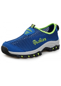 Mesh Slip On Sports Shoes
