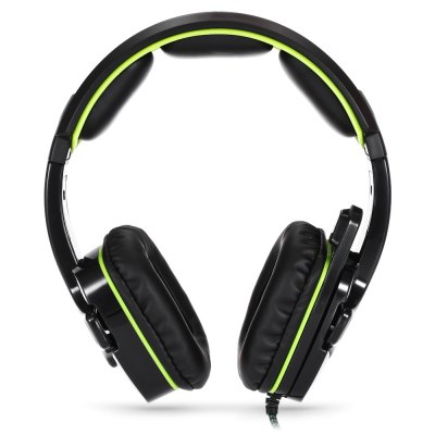 Sades SA 930 Over-ear Gaming HeadsetEarbud Headphones<br>Sades SA 930 Over-ear Gaming Headset<br><br>Application: Mobile phone, For iPod, Computer<br>Brand: Sades<br>Cable Length (m): 1.5M<br>Connectivity: Wired<br>Driver unit: 40mm<br>Frequency response: 20-20000Hz<br>Function: Noise Cancelling, Microphone, Sweatproof<br>Impedance: 16ohms<br>Language: No<br>Material: PU Leather, ABS<br>Model: SA 930<br>Package Contents: 1 x Sades SA 930 Over-ear Gaming Headset, 1 x 2-in-1 Audio Cable<br>Package size (L x W x H): 21.00 x 17.00 x 10.00 cm / 8.27 x 6.69 x 3.94 inches<br>Package weight: 0.4200 kg<br>Plug Type: 3.5mm<br>Product size (L x W x H): 20.00 x 17.50 x 7.50 cm / 7.87 x 6.89 x 2.95 inches<br>Product weight: 0.2620 kg<br>Sensitivity: 112dB<br>Wearing type: Headband
