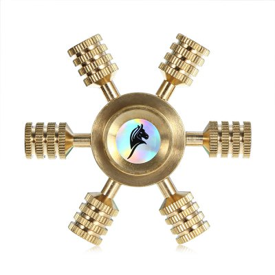 KELIMA Helm Type Fidget SpinnerFidget Spinners<br>KELIMA Helm Type Fidget Spinner<br><br>Brand: KELIMA<br>Color: Gold<br>Features: Detachable<br>Frame material: Zinc Alloy<br>Package Contents: 1 x Fidget Spinner, 1 x Box<br>Package size (L x W x H): 9.00 x 6.00 x 1.90 cm / 3.54 x 2.36 x 0.75 inches<br>Package weight: 0.1240 kg<br>Product size (L x W x H): 6.00 x 6.00 x 1.20 cm / 2.36 x 2.36 x 0.47 inches<br>Product weight: 0.0750 kg<br>Swing Numbers: 6