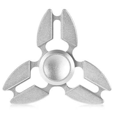 Three-blade Pincer Shape ADHD Fidget SpinnerFidget Spinners<br>Three-blade Pincer Shape ADHD Fidget Spinner<br><br>Color: Silver<br>Frame material: Aluminum Alloy<br>Package Contents: 1 x Fidget Spinner, 1 x Box<br>Package size (L x W x H): 9.00 x 7.00 x 1.90 cm / 3.54 x 2.76 x 0.75 inches<br>Package weight: 0.0750 kg<br>Product size (L x W x H): 6.50 x 6.50 x 1.40 cm / 2.56 x 2.56 x 0.55 inches<br>Product weight: 0.0290 kg<br>Swing Numbers: 3<br>Type: Triple Blade
