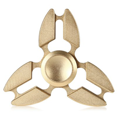 Three-blade Pincer Shape ADHD Fidget SpinnerFidget Spinners<br>Three-blade Pincer Shape ADHD Fidget Spinner<br><br>Color: Gold<br>Frame material: Aluminum Alloy<br>Package Contents: 1 x Fidget Spinner, 1 x Box<br>Package size (L x W x H): 9.00 x 7.00 x 1.90 cm / 3.54 x 2.76 x 0.75 inches<br>Package weight: 0.0750 kg<br>Product size (L x W x H): 6.50 x 6.50 x 1.40 cm / 2.56 x 2.56 x 0.55 inches<br>Product weight: 0.0290 kg<br>Swing Numbers: 3<br>Type: Triple Blade