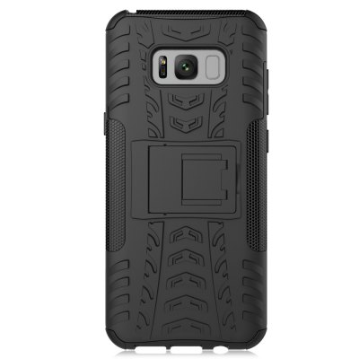 3D Relief Bumper Phone CaseSamsung Cases/Covers<br>3D Relief Bumper Phone Case<br><br>Color: Black<br>Compatible with: Samsung Galaxy S8 Plus<br>Features: Anti-knock, Back Cover, Cases with Stand<br>Material: PC, Silicone<br>Package Contents: 1 x Phone Case<br>Package size (L x W x H): 21.50 x 13.00 x 2.00 cm / 8.46 x 5.12 x 0.79 inches<br>Package weight: 0.0760 kg<br>Product size (L x W x H): 16.50 x 7.80 x 1.00 cm / 6.5 x 3.07 x 0.39 inches<br>Product weight: 0.0500 kg<br>Style: Modern, Pattern