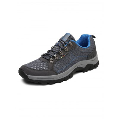 Men Lace Up Hiking ShoesHiking Shoes<br>Men Lace Up Hiking Shoes<br><br>Available Size: 39, 40, 41, 42, 43, 44<br>Closure Type: Lace-Up<br>Features: Anti-slip, Breathable, Durable<br>Gender: Men<br>Package Contents: 1 x Pair of Shoes<br>Package size: 33.00 x 22.00 x 11.00 cm / 12.99 x 8.66 x 4.33 inches<br>Package weight: 0.7800 kg<br>Product weight: 0.6000 kg<br>Season: Summer, Spring, Autumn<br>Sole Material: Rubber