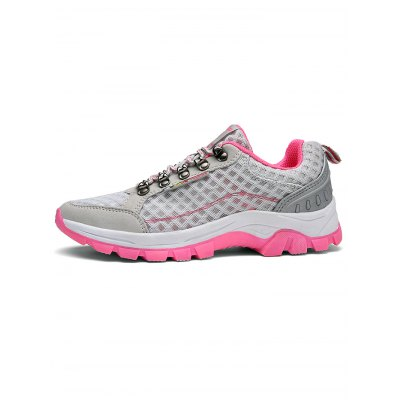 Ladies Mesh Hiking ShoesWomens Sneakers<br>Ladies Mesh Hiking Shoes<br><br>Contents: 1 x Pair of Shoes<br>Materials: Rubber<br>Occasion: Casual<br>Package Size ( L x W x H ): 33.00 x 22.00 x 11.00 cm / 12.99 x 8.66 x 4.33 inches<br>Package Weights: 0.780KG<br>Seasons: Autumn,Spring,Summer<br>Size: 36,37,38,39,40<br>Style: Leisure<br>Type: Hiking Shoes