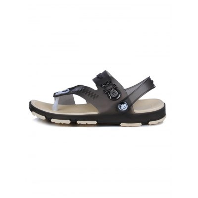 Men Dual Use SlippersMens Slippers<br>Men Dual Use Slippers<br><br>Color: Black,Blue<br>Contents: 1 x Pair of Shoes<br>Materials: MD<br>Occasion: Casual<br>Package Size ( L x W x H ): 33.00 x 22.00 x 11.00 cm / 12.99 x 8.66 x 4.33 inches<br>Package Weights: 0.480kg<br>Seasons: Summer<br>Size: 40,41,42,43,44<br>Style: Comfortable<br>Type: Sandals