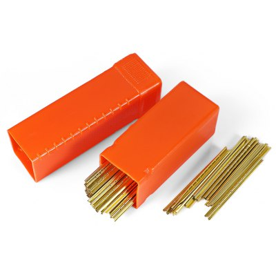 HakkaDeal 90pcs 0.06-type Key Cylinder Tin Bar