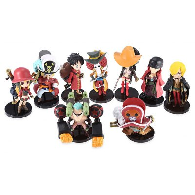 Collectible Animation Figurine Model - 9pcs / set