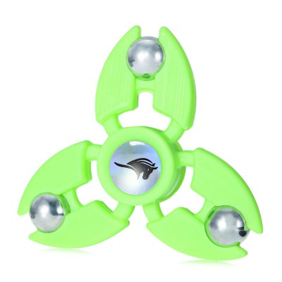KELIMA Three-leaf Luminous ABS Fidget SpinnerFidget Spinners<br>KELIMA Three-leaf Luminous ABS Fidget Spinner<br><br>Brand: KELIMA<br>Color: Green<br>Frame material: ABS<br>Package Contents: 1 x Fidget Spinner<br>Package size (L x W x H): 9.00 x 9.00 x 2.50 cm / 3.54 x 3.54 x 0.98 inches<br>Package weight: 0.0610 kg<br>Product size (L x W x H): 7.20 x 7.20 x 2.10 cm / 2.83 x 2.83 x 0.83 inches<br>Product weight: 0.0380 kg<br>Swing Numbers: 3<br>Type: Triple Blade