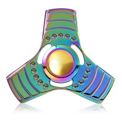 Cool Colorful Triple Rainbow Fidget Spinner Stress Reliever ToyFidget Spinners<br>Cool Colorful Triple Rainbow Fidget Spinner Stress Reliever Toy<br><br>Center Bearing Material: Stainless Steel Bearing<br>Color: Colorful<br>Frame material: Zinc Alloy<br>Package Contents: 1 x Fidget Spinner, 1 x Fidget Spinner Box<br>Package size (L x W x H): 9.50 x 7.00 x 3.00 cm / 3.74 x 2.76 x 1.18 inches<br>Package weight: 0.1200 kg<br>Product size (L x W x H): 6.00 x 6.00 x 1.50 cm / 2.36 x 2.36 x 0.59 inches<br>Product weight: 0.0690 kg<br>Swing Numbers: Tri-Bar<br>Type: Triple Blade, Rainbow
