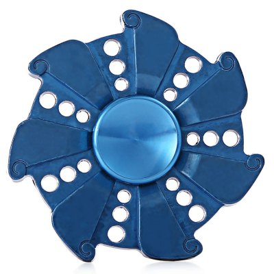 Zinc Alloy Fire Wheel Stress Relief Seven-blade Fidget SpinnerFidget Spinners<br>Zinc Alloy Fire Wheel Stress Relief Seven-blade Fidget Spinner<br><br>Center Bearing Material: Stainless Steel Bearing<br>Color: Blue<br>Frame material: Zinc Alloy<br>Package Contents: 1 x Fidget Spinner, 1 x Storage Box<br>Package size (L x W x H): 9.50 x 6.50 x 2.50 cm / 3.74 x 2.56 x 0.98 inches<br>Package weight: 0.1370 kg<br>Product size (L x W x H): 5.50 x 5.50 x 1.30 cm / 2.17 x 2.17 x 0.51 inches<br>Product weight: 0.0830 kg<br>Type: Fire Wheel