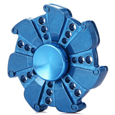 Zinc Alloy Fire Wheel Stress Relief Seven-blade Fidget Spinner