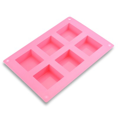 Square Silicone Cake Cookie MoldBaking &amp; Pastry Tools<br>Square Silicone Cake Cookie Mold<br><br>Material: Silicone<br>Package Contents: 1 x Silicone Mold<br>Package size (L x W x H): 24.20 x 16.80 x 3.80 cm / 9.53 x 6.61 x 1.5 inches<br>Package weight: 0.1350 kg<br>Product size (L x W x H): 23.20 x 15.80 x 2.80 cm / 9.13 x 6.22 x 1.1 inches<br>Product weight: 0.1040 kg<br>Type: Other Kitchen Accessories