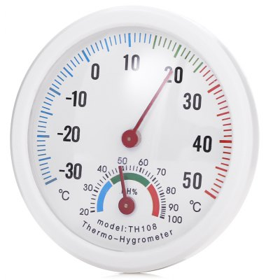 Mini Portable Thermometer / Hygrometer for Indoor Use