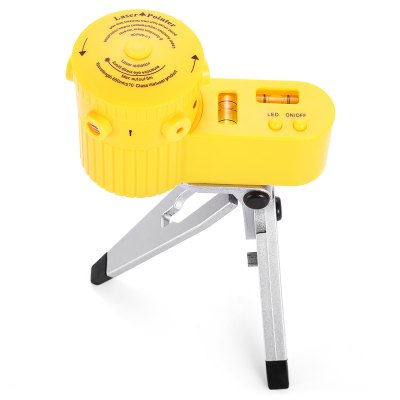 Portable Laser Leveler Bubble Measuring RulerTesters &amp; Detectors<br>Portable Laser Leveler Bubble Measuring Ruler<br><br>Color: Yellow<br>Package Contents: 1 x Measuring Ruler, 1 x Holder<br>Package size (L x W x H): 22.00 x 17.50 x 6.50 cm / 8.66 x 6.89 x 2.56 inches<br>Package weight: 0.1900 kg<br>Product size (L x W x H): 10.50 x 6.10 x 5.50 cm / 4.13 x 2.4 x 2.17 inches<br>Product weight: 0.1200 kg
