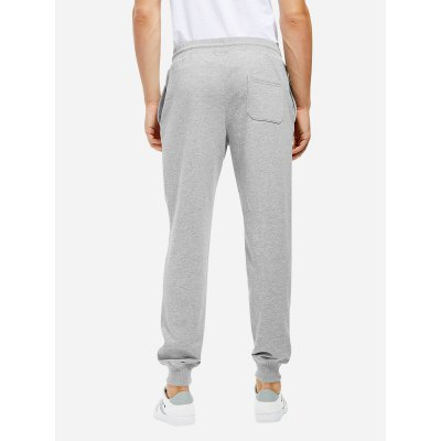 ZANSTYLE Men Cotton Heather Gray Sweatpants JoggersWeight Lifting Clothes<br>ZANSTYLE Men Cotton Heather Gray Sweatpants Joggers<br>