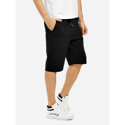 ZANSTYLE Men Sweatpants Black ShortsWeight Lifting Clothes<br>ZANSTYLE Men Sweatpants Black Shorts<br>