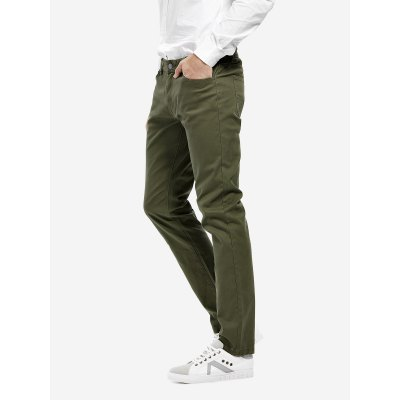 ZANSTYLE Men Stretch Knit Slim Fit PantsMens Pants<br>ZANSTYLE Men Stretch Knit Slim Fit Pants<br>