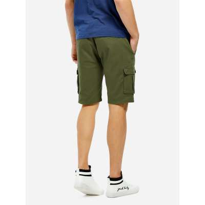 ZANSTYLE Men Knee Length Cargo ShortsMens Shorts<br>ZANSTYLE Men Knee Length Cargo Shorts<br>