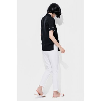 YILINHONGSHANG Fashionable Solid Versatile Casual PantsBottoms<br>YILINHONGSHANG Fashionable Solid Versatile Casual Pants<br><br>Brand: yilinhongshang<br>Closure Type: Zipper Fly, Button Fly<br>Fit Type: Regular<br>Length: Ninth<br>Material: Polyester<br>Package Contents: 1 x Pair of YILINHONGSHANG Pants<br>Package Size ( L x W x H ): 36.00 x 30.00 x 1.00 cm / 14.17 x 11.81 x 0.39 inches<br>Package Weights: 0.220kg<br>Pant Style: Harem Pants<br>Waist Type: Mid