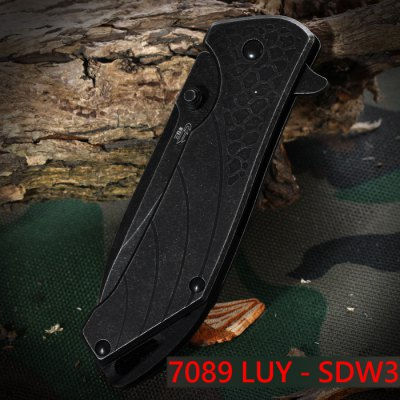 Sanrenmu 7089 LUY - SDW3 Foldable Knife with Clip and Liner LockPocket Knives and Folding Knives<br>Sanrenmu 7089 LUY - SDW3 Foldable Knife with Clip and Liner Lock<br><br>Blade Length: 7.4 cm / 2.91 inches<br>Blade Width : 2.4 cm / 0.94 inches<br>Brand: Sanrenmu<br>Color: Silver Gray<br>Fold Length: 9.4 cm / 3.70 inches<br>For: Adventure, Camping, Home use, Hiking, Daily Use, Climbing<br>Lock Type: Liner Lock<br>Material: Stainless Steel<br>Package Contents: 1 x Sanrenmu 7089 LUY - SDW3 Folding Knife<br>Package size (L x W x H): 14.50 x 6.70 x 1.80 cm / 5.71 x 2.64 x 0.71 inches<br>Package weight: 0.1500 kg<br>Product size (L x W x H): 9.40 x 2.80 x 0.70 cm / 3.7 x 1.1 x 0.28 inches<br>Product weight: 0.0850 kg<br>Type: Multitools<br>Unfold Length: 16.2 cm / 6.38 inches