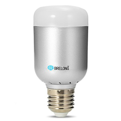 BRELONG SU - 600 RGB + 4000K E27 LED Bulb LightSmart Lighting<br>BRELONG SU - 600 RGB + 4000K E27 LED Bulb Light<br><br>Available Light Color: RGB + White<br>Brand: BRELONG<br>Emitter Types: SMD 2835<br>Features: Dimming, APP Control<br>Function: Home Lighting, Commercial Lighting<br>Holder: E27<br>Lifespan: 50,000 hours<br>Luminous Flux: 550Lm<br>Model: SU - 600<br>Output Power: 12W<br>Package Contents: 1 x BRELONG SU - 600 LED Light Bulb, 1 x English User Manual<br>Package size (L x W x H): 8.50 x 7.50 x 13.00 cm / 3.35 x 2.95 x 5.12 inches<br>Package weight: 0.1600 kg<br>Product size (L x W x H): 5.20 x 5.20 x 10.70 cm / 2.05 x 2.05 x 4.21 inches<br>Product weight: 0.1000 kg<br>Sheathing Material: PC, Aluminum Alloy<br>Voltage (V): AC 100-240V