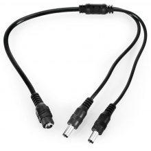 2 Way Power Splitter Cable for 5.5mm x 2.1mm PSU