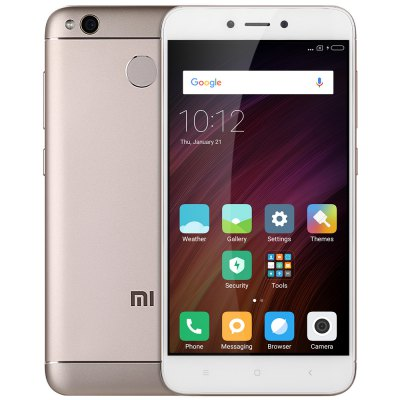 Gearbest Xiaomi Redmi 4X 4G Smartphone  -  INTERNATIONAL VERSION 4GB RAM 64GB ROM  CHAMPAGNE