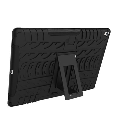 Double-protection Back Case with Bracket for 9.7 inch iPad ProTablet Accessories<br>Double-protection Back Case with Bracket for 9.7 inch iPad Pro<br><br>Accessory type: Back Case<br>Compatible models: For iPad<br>Features: Back Cover, Double-protection<br>For: Tablet PC<br>Package Contents: 1 x Back Case<br>Package size (L x W x H): 26.00 x 19.00 x 2.50 cm / 10.24 x 7.48 x 0.98 inches<br>Package weight: 0.2700 kg<br>Product size (L x W x H): 24.50 x 17.50 x 1.00 cm / 9.65 x 6.89 x 0.39 inches<br>Product weight: 0.2320 kg