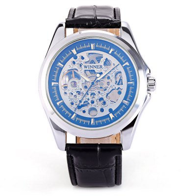 Winner U8052 Men Auto Mechanical WatchMens Watches<br>Winner U8052 Men Auto Mechanical Watch<br><br>Band material: Leather<br>Band size: 26 x 2cm / 10.24 x 0.79 inches<br>Brand: Winner<br>Case material: Alloy<br>Clasp type: Pin buckle<br>Dial size: 4.7 x 4.7 x 1.3cm / 1.85 x 1.85 x 0.51 inches<br>Display type: Analog<br>Movement type: Automatic mechanical watch<br>Package Contents: 1 x Watch<br>Package size (L x W x H): 27.00 x 5.70 x 2.30 cm / 10.63 x 2.24 x 0.91 inches<br>Package weight: 0.1030 kg<br>Product size (L x W x H): 26.00 x 4.70 x 1.30 cm / 10.24 x 1.85 x 0.51 inches<br>Product weight: 0.0720 kg<br>Shape of the dial: Round<br>Special features: Luminous<br>Watch mirror: Mineral glass<br>Watch style: Fashion, Business<br>Watches categories: Male table<br>Water resistance : Life water resistant<br>Wearable length: 19.00 - 24.00cm / 7.48 - 9.45 inches