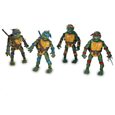 Animation Turtle Design Figurine Model - 4pcs / set