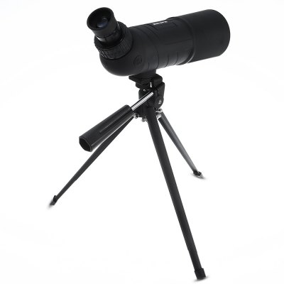 SUNCORE 20 x 60mm Monocular Triangle Support TelescopeBinoculars and Telescopes<br>SUNCORE 20 x 60mm Monocular Triangle Support Telescope<br><br>Amplification Factor: 20X<br>Brand: SUNCORE<br>Coating Film: FMC<br>Color: Black<br>Exit pupil diameter: 4mm<br>Exit pupil distance: 23mm<br>Eyepiece Diameter: 23mm<br>Features: Bracket Interface, Anti-fog, Anti-slip, Waterproof, Foldable Eye Cup<br>Field Angle(degree): 6.8 degree<br>Field of view: 100 / 1000m<br>Focusing System: Individual Eyepiece Focus, Center Focus<br>For: Astronomy, Hunting, Auto racing, Bird watching, Horse racing, Boating/Yachting<br>Objective Lens (mm) : 60mm<br>Optical Material: BK-7<br>Package Contents: 1 x SUNCORE Binocular, 1 x Triangle Support, 1 x Objective Lens Lid, 1 x Cleaning Cloth, 1 x Storage Bag, 1 x English User Manual<br>Package size (L x W x H): 33.50 x 9.00 x 15.50 cm / 13.19 x 3.54 x 6.1 inches<br>Package weight: 0.9130 kg<br>Prism System: Roof System<br>Product size (L x W x H): 25.50 x 7.30 x 10.00 cm / 10.04 x 2.87 x 3.94 inches<br>Product weight: 0.4040 kg<br>Type: Monocular Telescope