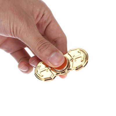 Dual-bar Anchor Style Dazzling Fidget Spinner Focus ToyFidget Spinners<br>Dual-bar Anchor Style Dazzling Fidget Spinner Focus Toy<br><br>Frame material: Copper<br>Package Contents: 1 x Hand Spinner<br>Package size (L x W x H): 9.30 x 9.30 x 3.50 cm / 3.66 x 3.66 x 1.38 inches<br>Package weight: 0.1040 kg<br>Product size (L x W x H): 6.30 x 2.50 x 1.50 cm / 2.48 x 0.98 x 0.59 inches<br>Product weight: 0.0700 kg<br>Type: Anchor, Cool