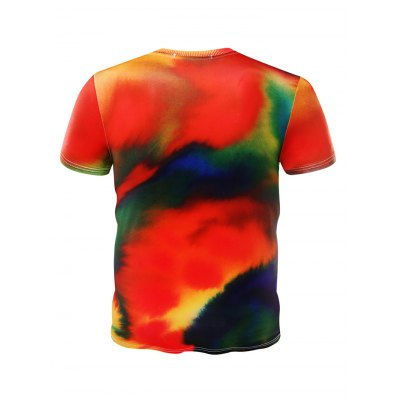 Colorful 3D Short Sleeves Men T ShirtMens Short Sleeve Tees<br>Colorful 3D Short Sleeves Men T Shirt<br><br>Fabric Type: Cotton, Polyester<br>Package Content: 1 x T Shirt<br>Package size: 32.00 x 28.00 x 2.00 cm / 12.6 x 11.02 x 0.79 inches<br>Package weight: 0.2000 kg<br>Product weight: 0.1700 kg<br>Season: Summer, Spring, Autumn<br>Style: Sport, Fashion, Casual