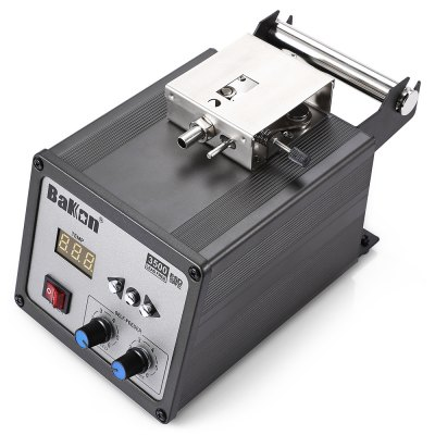 Bakon BK3500 120W Digital Soldering StationSoldering Supplies<br>Bakon BK3500 120W Digital Soldering Station<br><br>Adjustable Temperature Range: 200 - 500 Deg.C<br>Brand: Bakon<br>Material: Metal + Plastic<br>Model: BK3500<br>Package Contents: 1 x Digital Soldering Station, 1 x Pedal Switch, 1 x Iron, 1 x Holder, 1 x Power Adapter, 1 x English User Manual<br>Package size (L x W x H): 32.00 x 30.00 x 18.00 cm / 12.6 x 11.81 x 7.09 inches<br>Package weight: 3.4300 kg<br>Power: 120W<br>Product size (L x W x H): 16.00 x 13.00 x 14.00 cm / 6.3 x 5.12 x 5.51 inches<br>Product weight: 1.8900 kg<br>Temperature Control Support: Yes<br>Type: Soldering Station<br>Voltage (V): 100-240V