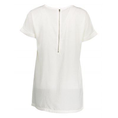 Printed Plus Size Long T ShirtsTees<br>Printed Plus Size Long T Shirts<br><br>Clothing Length: Long<br>Collar: Round Collar<br>Color: White<br>Material: Cotton<br>Package Contents: 1 x T Shirt<br>Package size: 50.00 x 30.00 x 1.00 cm / 19.69 x 11.81 x 0.39 inches<br>Package weight: 0.2100 kg<br>Pattern Type: Print<br>Product weight: 0.1700 kg<br>Season: Summer<br>Sleeve Length: Short Sleeves<br>Style: Casual