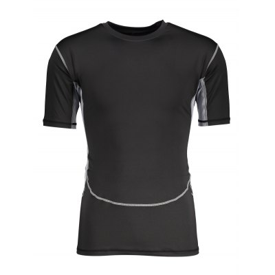 Outdoor Fitness Elastic Quick-dry T Shirt Short SleeveMens Short Sleeve Tees<br>Outdoor Fitness Elastic Quick-dry T Shirt Short Sleeve<br><br>Material: Lycra, Spandex<br>Neckline: Round Neck<br>Package Content: 1 x T Shirt<br>Package size: 30.00 x 28.00 x 2.00 cm / 11.81 x 11.02 x 0.79 inches<br>Package weight: 0.2200 kg<br>Product weight: 0.1860 kg<br>Season: Summer<br>Sleeve Length: Short Sleeves