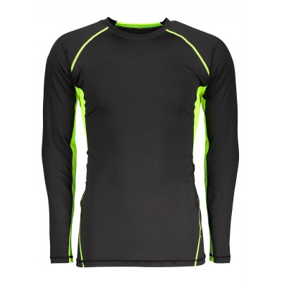 CTSmart Breathable Quick-drying Training Long Sleeve T-shirtWeight Lifting Clothes<br>CTSmart Breathable Quick-drying Training Long Sleeve T-shirt<br><br>Brand: CTSmart<br>Features: Breathable, High elasticity, Quick Dry<br>Gender: Men<br>Material: Spandex, Polyester<br>Package Content: 1 x CTSmart T-shirt<br>Package size: 35.00 x 30.00 x 2.00 cm / 13.78 x 11.81 x 0.79 inches<br>Package weight: 0.2460 kg<br>Product weight: 0.1960 kg<br>Types: Long Sleeves