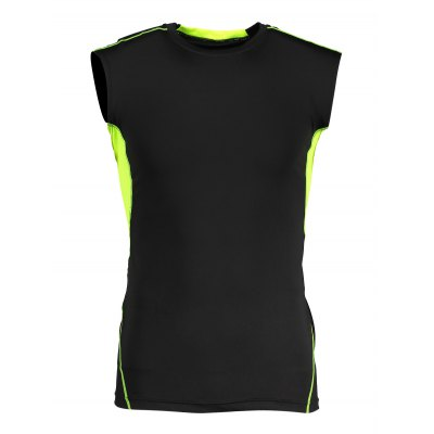 CTSmart Breathable Quick-drying Elastic Training Vest T-shirtWeight Lifting Clothes<br>CTSmart Breathable Quick-drying Elastic Training Vest T-shirt<br><br>Brand: CTSmart<br>Features: Breathable, High elasticity, Quick Dry<br>Gender: Men<br>Material: Spandex, Polyester<br>Package Content: 1 x CTSmart T-shirt<br>Package size: 30.00 x 25.00 x 2.00 cm / 11.81 x 9.84 x 0.79 inches<br>Package weight: 0.1480 kg<br>Product weight: 0.1080 kg