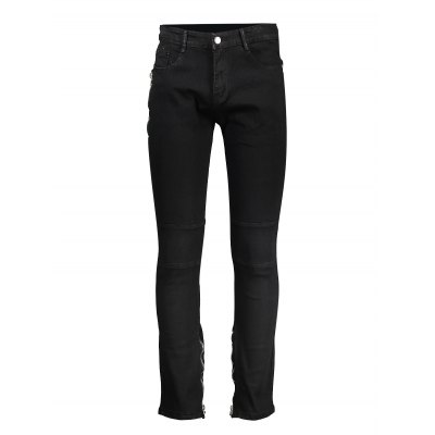 Men Skinny Jeans with Biker ZipMens Pants<br>Men Skinny Jeans with Biker Zip<br><br>Material: Cotton<br>Package Contents: 1 x Pair of Jeans<br>Package size: 20.00 x 20.00 x 2.00 cm / 7.87 x 7.87 x 0.79 inches<br>Package weight: 0.3700 kg<br>Product weight: 0.3000 kg