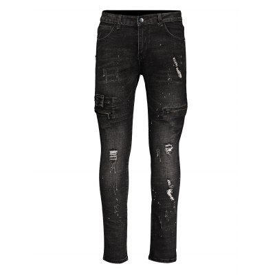 Men Skinny Jeans Mega RipsMens Pants<br>Men Skinny Jeans Mega Rips<br><br>Material: Cotton<br>Package Contents: 1 x Pair of Skinny Jeans<br>Package size: 20.00 x 20.00 x 4.00 cm / 7.87 x 7.87 x 1.57 inches<br>Package weight: 0.5700 kg<br>Product weight: 0.5000 kg