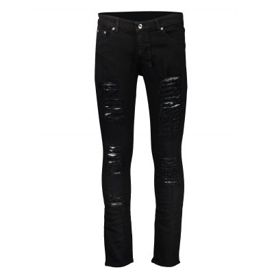 Skinny Men Jeans with Mega RipsMens Pants<br>Skinny Men Jeans with Mega Rips<br><br>Material: Cotton<br>Package Contents: 1 x Pair of Jeans<br>Package size: 20.00 x 20.00 x 2.00 cm / 7.87 x 7.87 x 0.79 inches<br>Package weight: 0.4800 kg<br>Product weight: 0.4500 kg